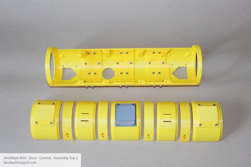 Amethyst AUV Center - Top Parts 2